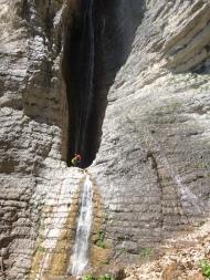 Compte rendu stage canyon dans lesApennins