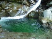 premier bassin d'iragna amont