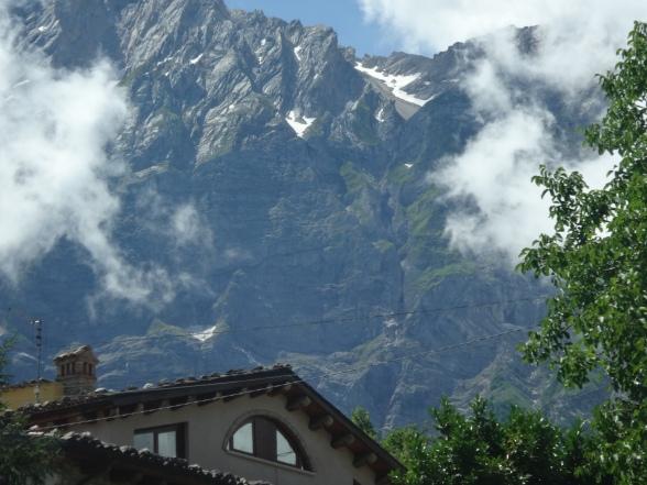 Face nord de Camiccia et cascate de Infinita