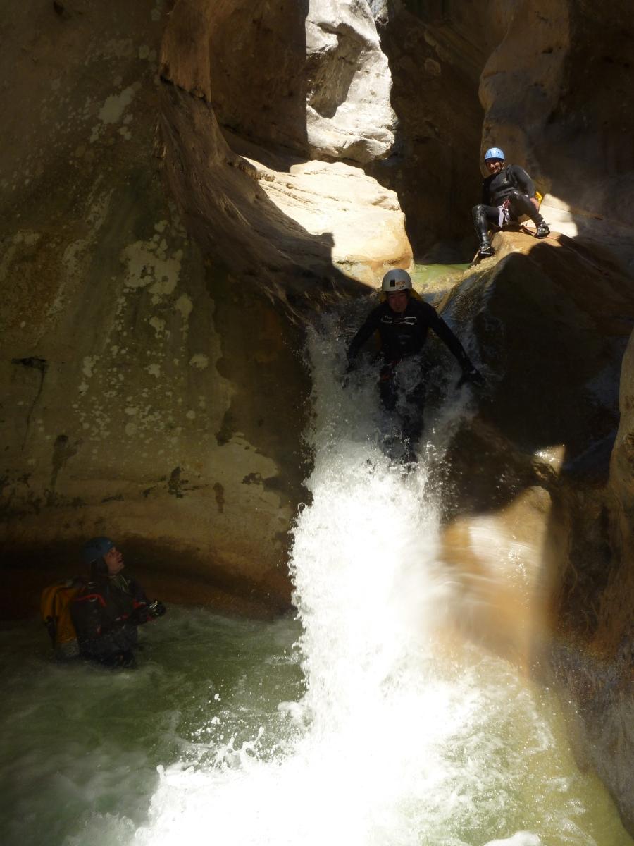 gestion des orages en canyon