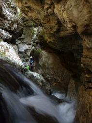 Petit encaissement avant les grandes cascades