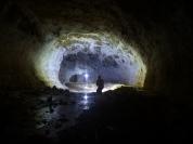 explorations à la grotte des chamois