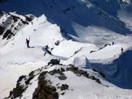 ski de randonnée XL dans le val d'Entraunes