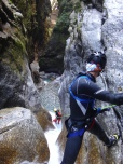 canyoning tessin stage perfectionnement autonomie