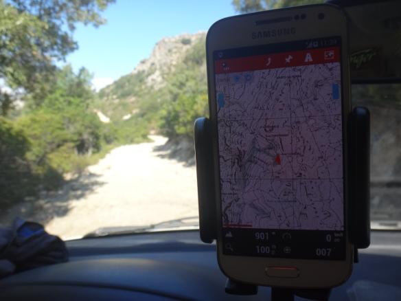 Carte Espagne Hors Ligne.Test Longue Duree Application Gps Sur Smartphone Oruxmap